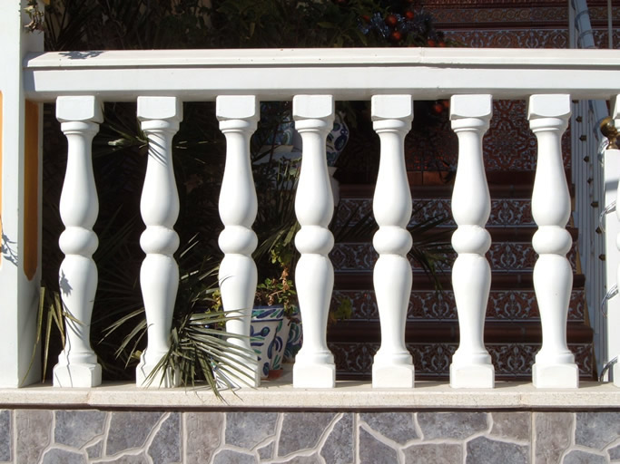 Baluster mold n8 8click on the image)