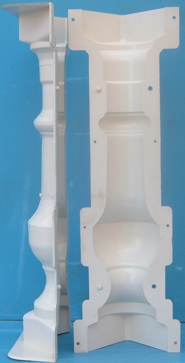 Baluster mold n25 (click on the image)